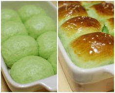 Dapur Mama Aisyah: Roti Sobek Pandan [tangzhong/water-roux method]