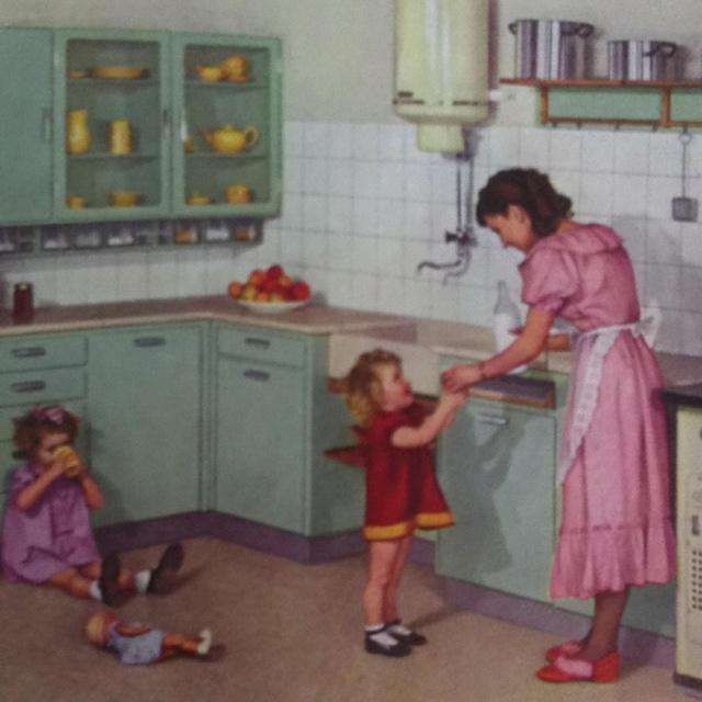 Standaardkeuken - 1938, Piet Zwart, Bruynzeel