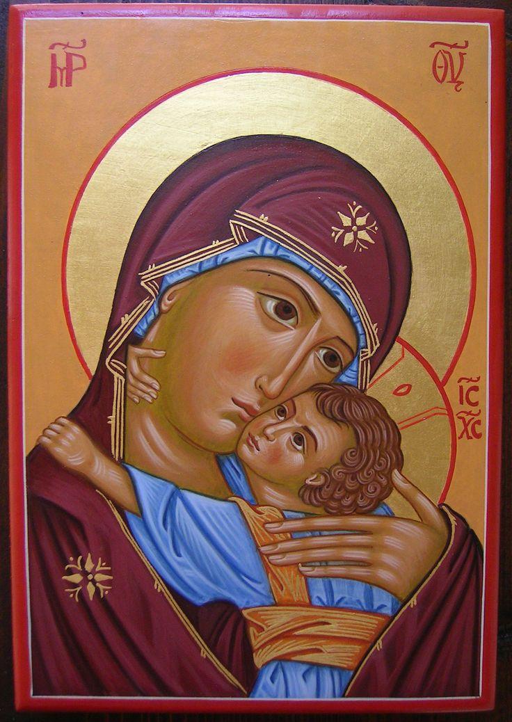 madre di Dio di pskov per mano di Assunta Fraraccio