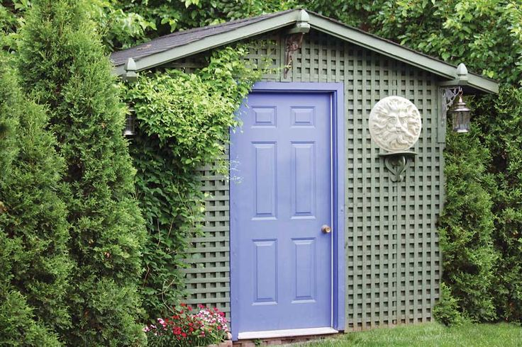 Easy DIY Garden Shed Plans  Anyone can build a small, simple and sensational shed!                                                                                                                              By Steve Maxwell                         April/May 2011