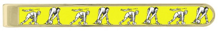 Half Back Rugby Pass - Gold Plated Tie Bar. The ideal gift for the rugby man. Available in two styles and three finishes http://www.zazzle.com/half_back_rugby_pass_gold_plated_tie_bar-256058449962432058 #rugby #tiebar #fashion #giftideas #giftforhim