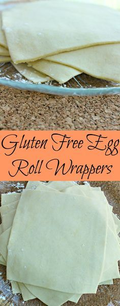 Gluten Free Egg Roll Wrappers