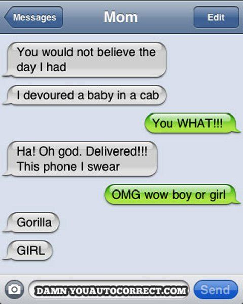 I think this person needs a new phone...right away.