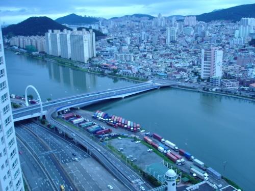 Centum City.  Busan, South Korea