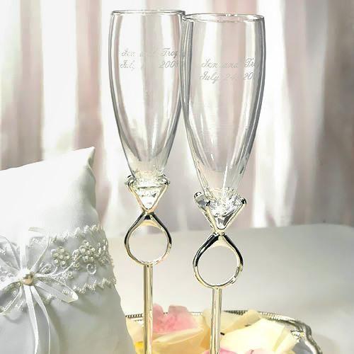 Decoration de mariage theme diamant