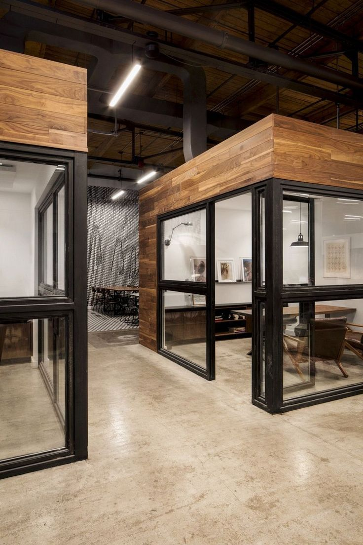 Industrial Inspired Loft Designs Decor In 2020 Commercial