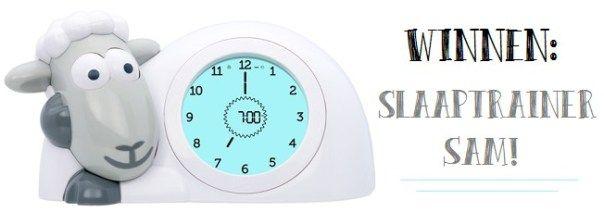 Winactie slaaptrainer Sam - Slaapt jouw kindje ook slecht of super vroeg wakker? Doe snel mee!