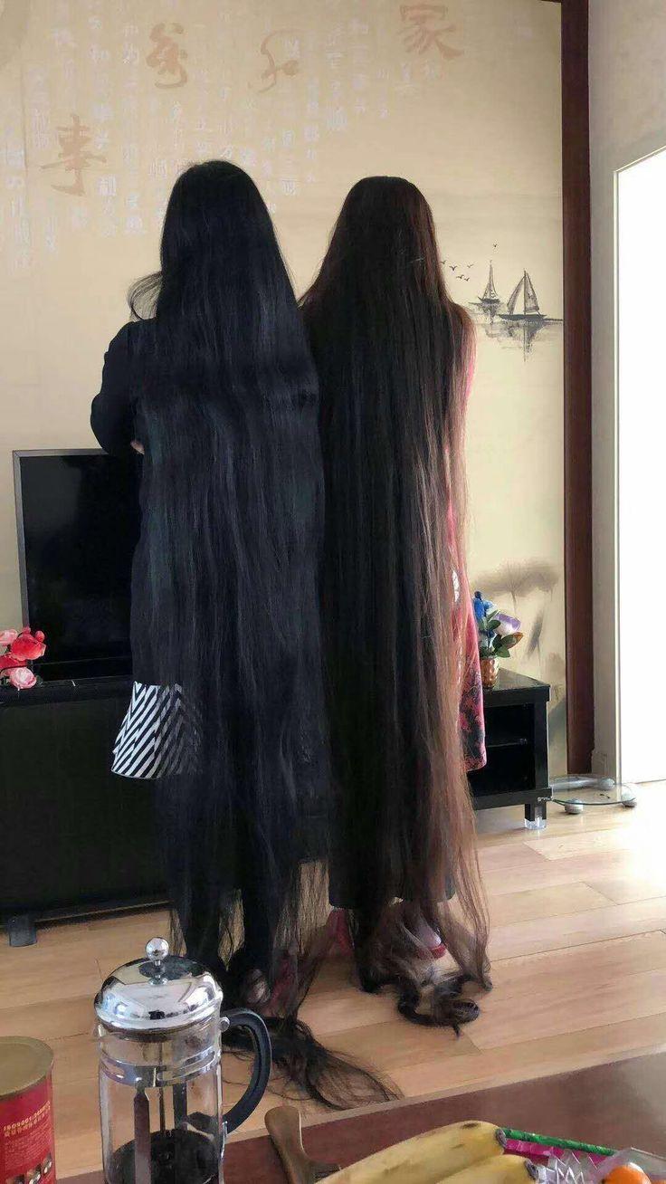 Beautiful photo of inspiring super long hair.