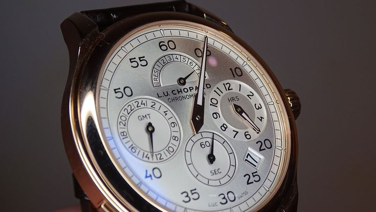 #Chopard L.U.C Regulator perfil