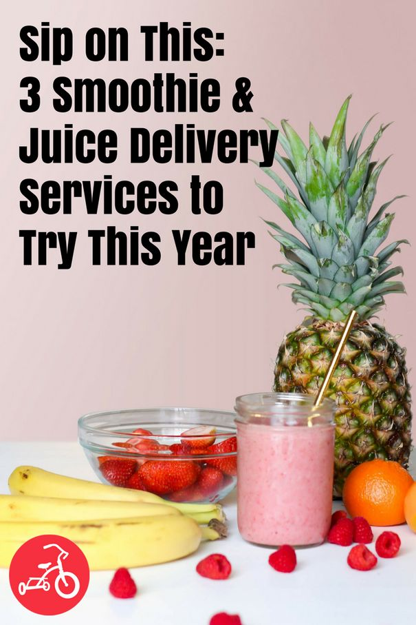 Tired of making your own daily smoothie, or forgetting to buy all the ingredients at the store? Check out these smoothie and juice delivery services! #deliveryservices #smoothies #juicerecipes