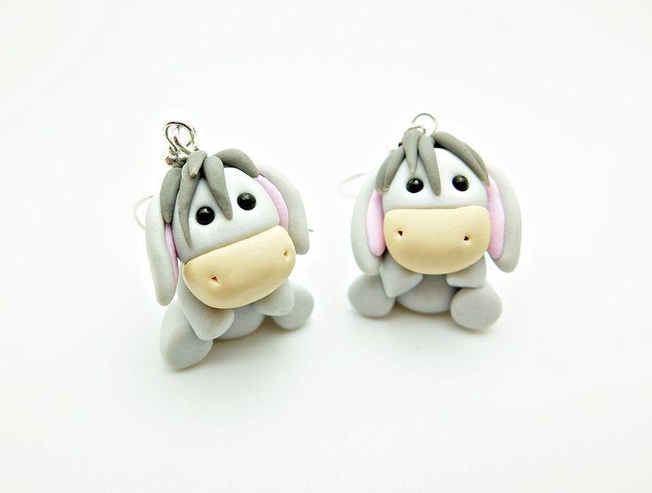 Esel+Ohrringe+von+Kinderschmuck++auf+DaWanda.com
