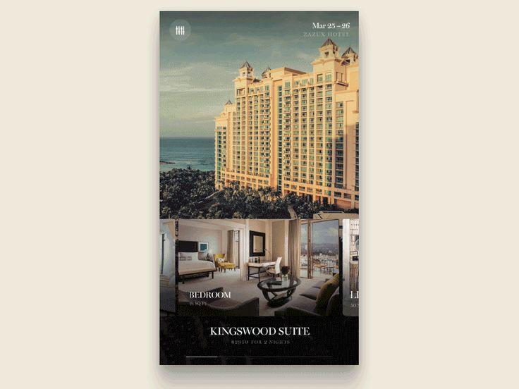 Hotel app exploration