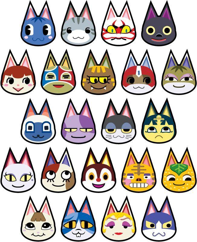 animal crossing cats Animal Crossing Cats
