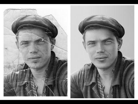 Реставрация старой фотографии в Photoshop – ФотоКто