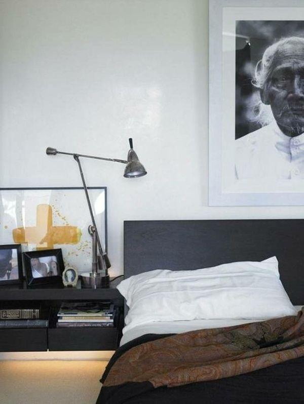25 Trendy Bachelor Pad Bedroom Ideas