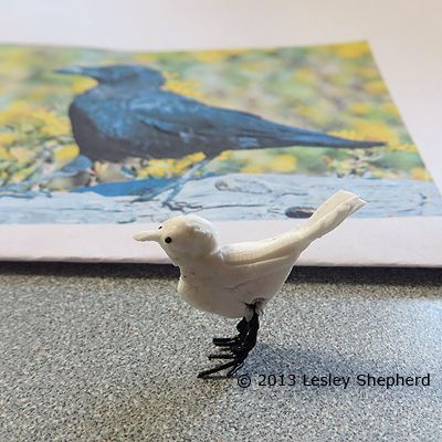 Download Sculpt Miniature Crows or Ravens for Model Scenes   Crows ravens, Clay animals, Crow