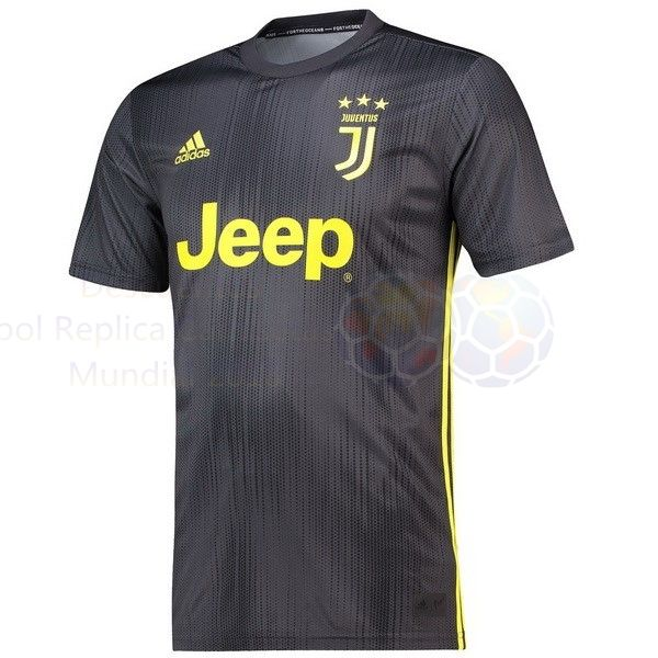 Venta Camisetas Tailandia Tercera Camiseta Juventus 2018 2019 Gris ... 49535e5dca8a4