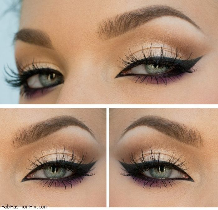perfect cat #eyeliner #make-up look