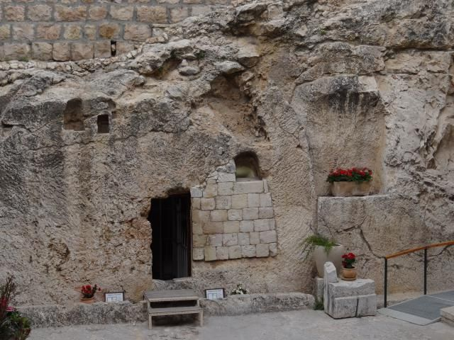 """The """"Garden Tomb"""" outside of Jerusalem is a possible location for Jesus' burial"""