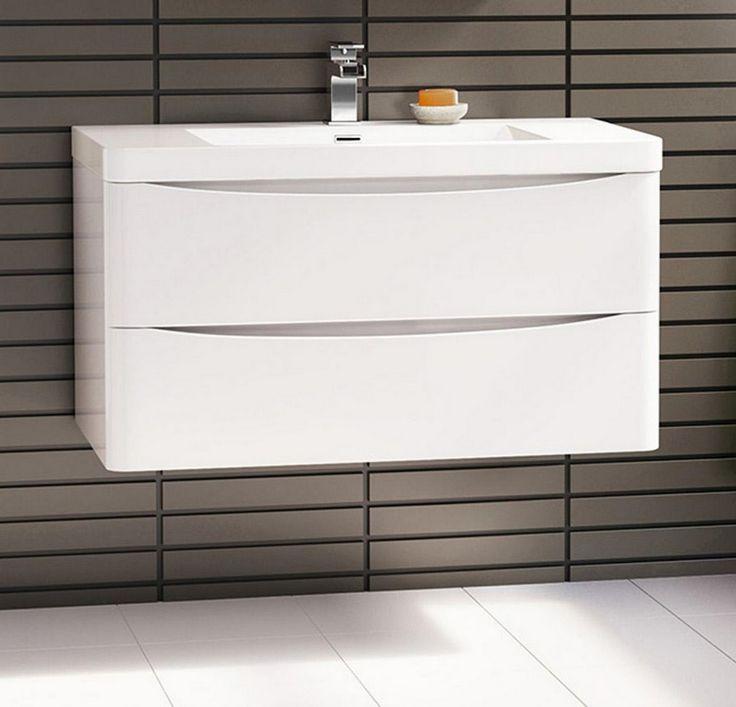 Lavabo bianco 2 cassetti idelshop.com
