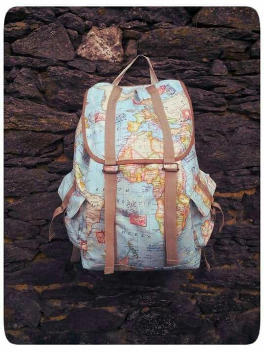 Una mochila para ir de viajes