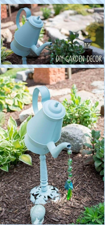 24+ Best DIY Teapot Garden Art & Decor Ideas - FarmFoodFamily