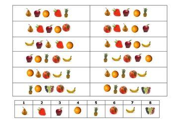 FREE-Spanish Speaking Activity to Practice Fruit