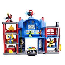"Playskool Heroes Transformers Rescue Bots Electronic Fire Station Prime Playset - Hasbro - Toys ""R"" Us"
