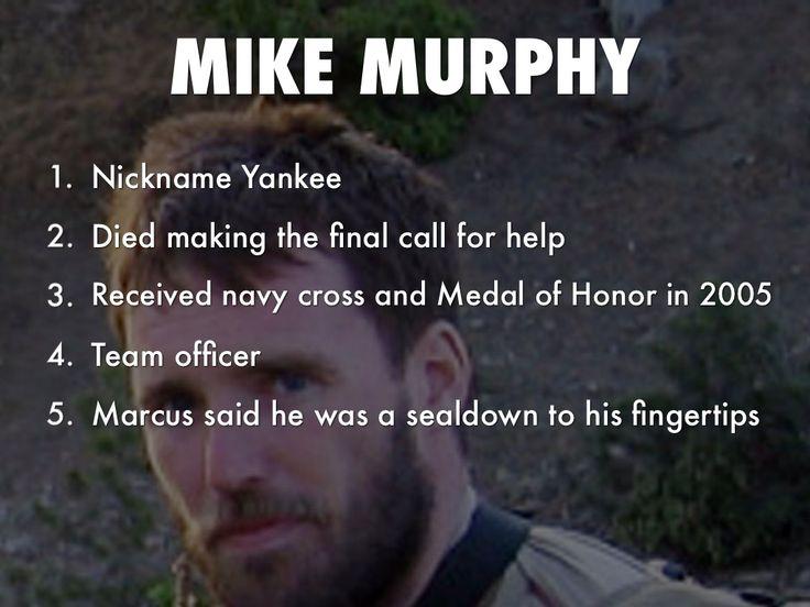 Mike Murphy | Lone Survivor | Pinterest | Mike d'antoni