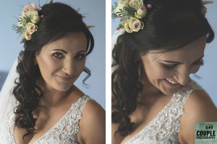 The bride is ready to go! Weddings at Tankardstown House by Couple  Photography.