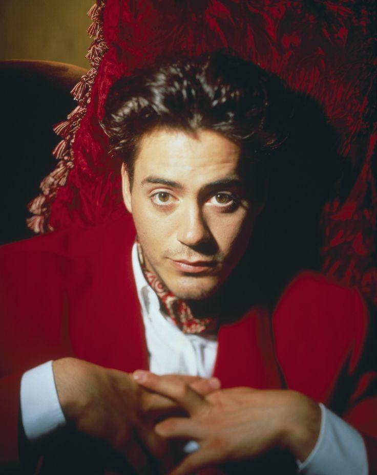 Robert Downey Jr. fotografiado por Firooz Zahedi, 1990