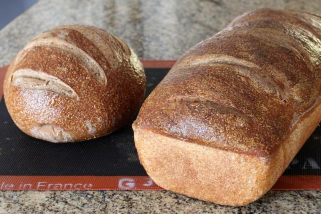 The Only Pumpernickel Bread Recipe You'll Need: Pumpkernickel Bread, Round (Boule) and Hearth Loaf