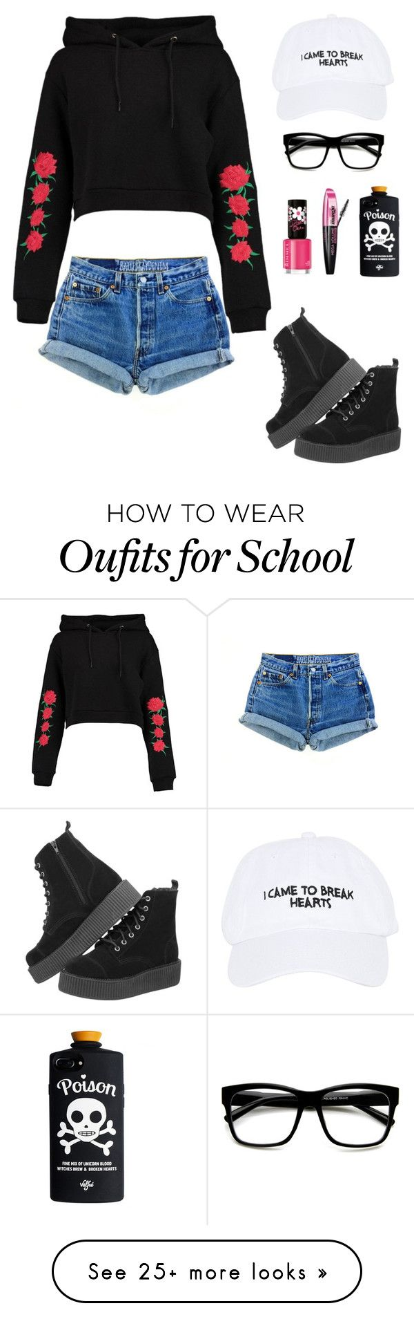 """Random Outfit 31"" by mangatprab on Polyvore featuring Nasaseasons, Boohoo, Rimmel, L'Oréal Paris and ZeroUV"