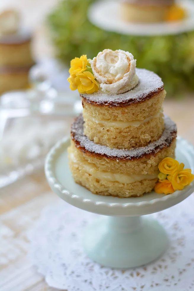 Mini Naked Cake Raffaello   menudochef