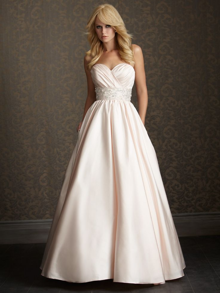 Allure romance collection style 2510 i feel like this for Wedding dresses for small breasts