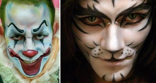 Como fazer maquiagem de Halloween masculina