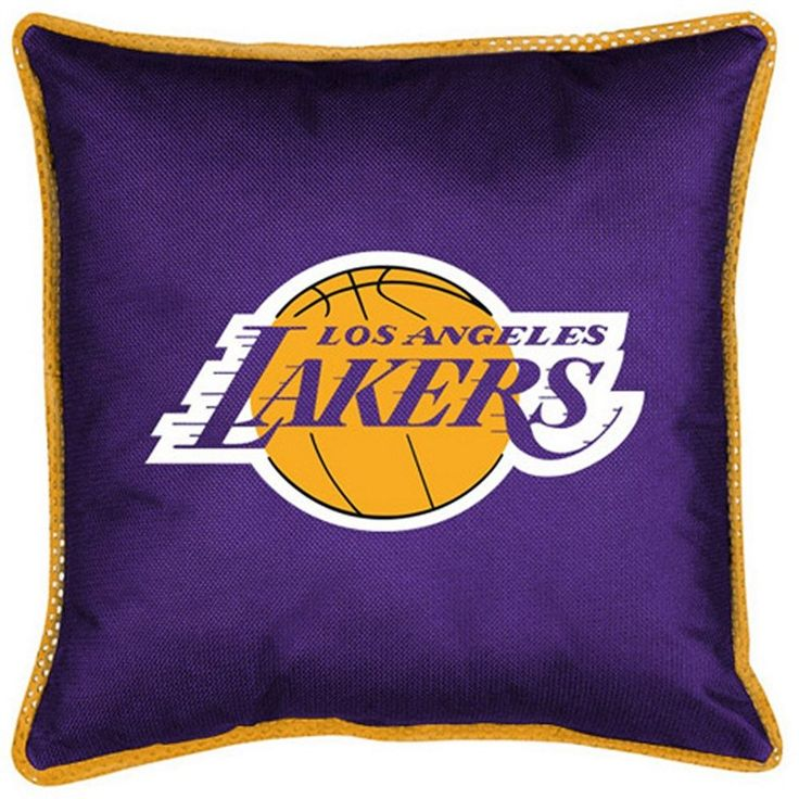 NBA Los Angeles Lakers LA Basketball Sports Coverage Comforter Sidelines Pillow  #SportsCoverage #LosAngelesLakers