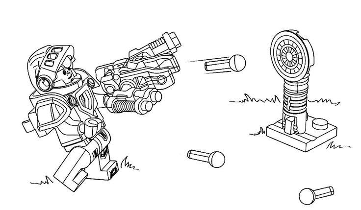 Распечатать Раскраски Лего Нексо Найтс. Распечатать картинки рыцари Нексо