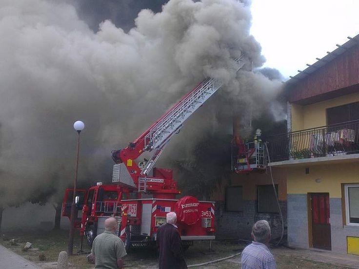 W czwartek przed godz. 13.00 w restauracji Kormoran  w Sulechowie wybuchł pożar.