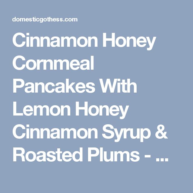 1000+ ideas about Cornmeal Pancakes on Pinterest | Pancakes, Pancake ...