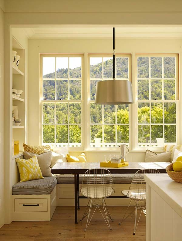 Amazing 52 Incredibly Fabulous Breakfast Nook Design Ideas