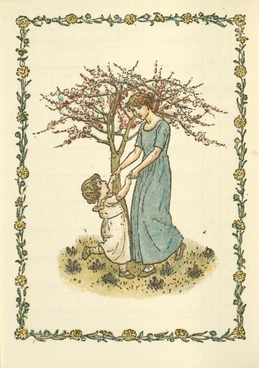 kate greenaway coloring book | Coloring Pages