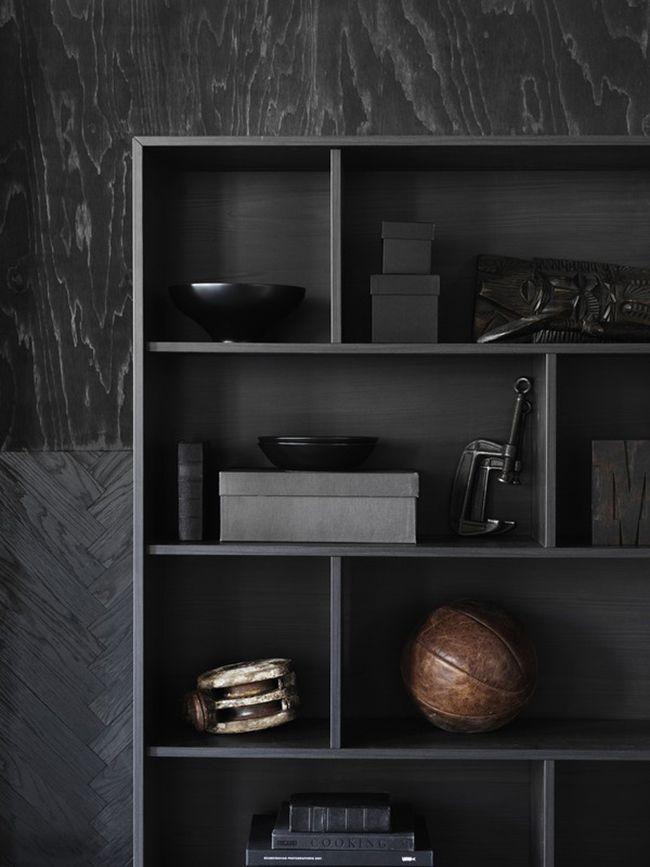 BEELDSTEIL.com Ikea Valje Storage System #ikea #valje #storage #interior #black #styling