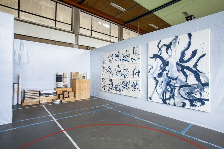 Sef Berkers. Exhibition '50 Jaar grond',  McCartney 'Helter Skelter', and a part of the archive.