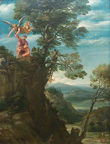 Le Sacrifice d'Abraham, Carrache (Musée du Louvre)