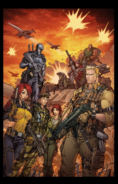 GI Joe Yearbook~  Jonboy Meyers