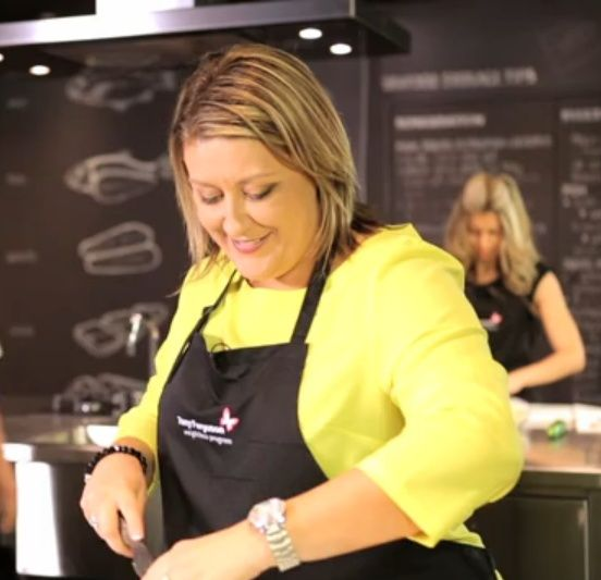 Julie-Ann Wharley - who was one of our Superchef contestants. Julie-Ann describes herself as a home cook and loves cooking Tony Ferguson recipes as they are simple and suit the whole family. View episode at: http://www.youtube.com/user/1MillionLives