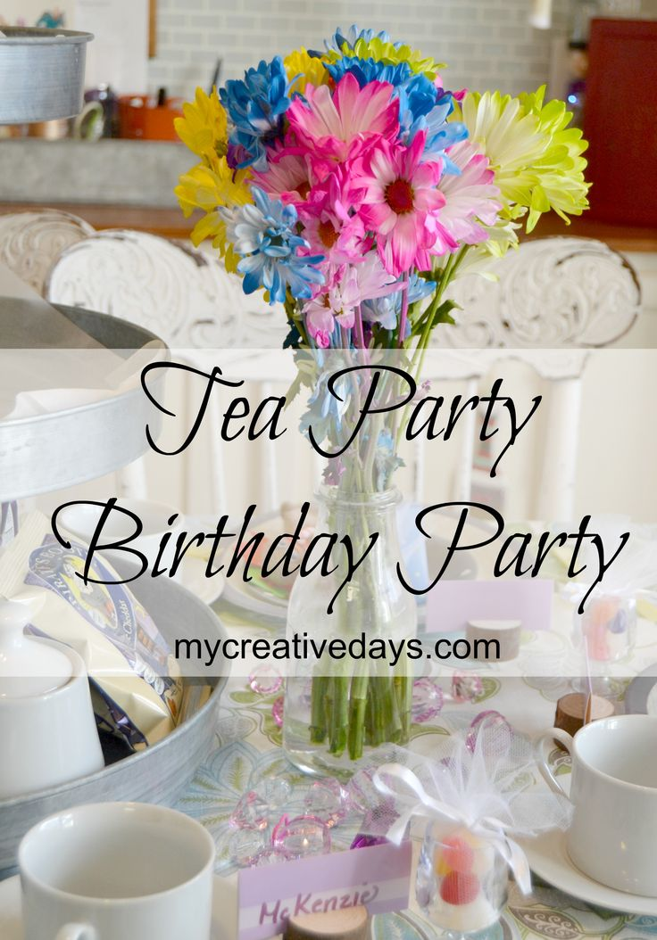 Tea Party Video