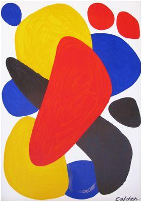 William Bennett Gallery - Alexander Calder - Rare Individual Prints