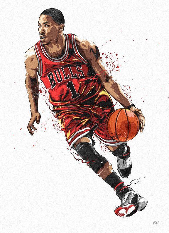 NBA Illustrations 2nd set on Illustration Served